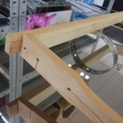 Рамка с проволокой для улья Рута (высота 230 мм) фото