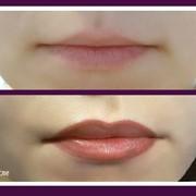 Татуаж губ (перманентный макияж) фото
