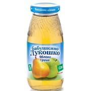 Б.лукошко сок яблочно-грушевый осв. б/сах (с 5 мес) 200мл фото