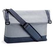 Сумка через плечо OnePlus Travel Messenger Bag Blue Gray фото