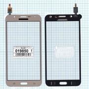 Сенсорное стекло (тачскрин) для Samsung Galaxy J7 SM-J700F золотистое, Диагональ 5.5 фото