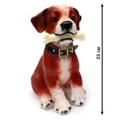"""Копилка """"Собака с косточкой"""", 23 см, (MILAND) фото"""