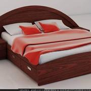 Кровать двухспальная изголовье полукруг фото