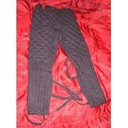 Стеганые штаны к поддоспешнику фото