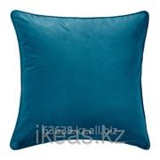 Чехол на подушку, темная бирюза САНЕЛА фото