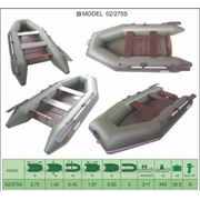 Надувная лодка ПВХ Велес 02/275S фото