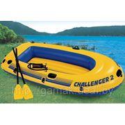 Лодка надувная 2-х местная INTEX Challenger 2 Set 68367 фото