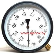 Манометр газовый МП160МУ-О2 фото
