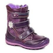 Сапоги демисезонные 32 цвет Фиолетовый фото