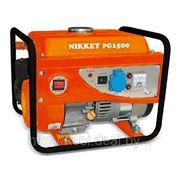 Бензиновая электростанция / Бензогенератор NIKKEY PG 1500 220V фото