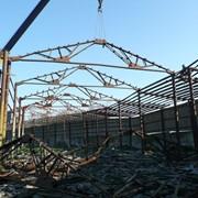 Демонтаж зданий, металлоконструкций, кранов, ж/д путей фото
