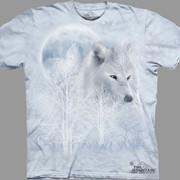 Футболка White Wolf Moon фото