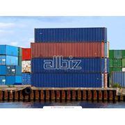 Морские перевозки грузов в контейнерах фото