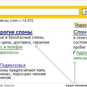 Прямая и контекстная реклама в Интернете фото