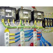 Комплект маркировки для электросчетчика трансформаторного включения фото