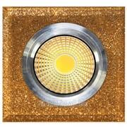 Светодиоды точечные LED QX GOLD SQUARE 3W 5000K фото