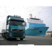 Услуги по транспортному экспедированию грузов фото
