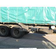 Перевозка полных грузов полуприцепами с тентовыми покрытиями фото
