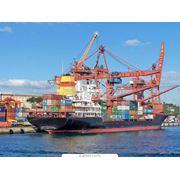 Морские перевозки контейнеров фото