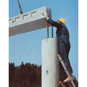 Монтаж железобетонных конструкций фото