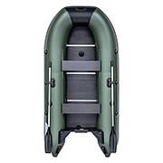 Лодка RUSH(РАШ) 3000 СК под мотор до 10 л.с. Цвет: зеленый/черный фото