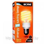 Лампа энергосберегающая «Spiral» (15W E14) фото