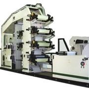 Автомат для изготовления салфеток с печатью в 2 – 4 -6краски серии PU-EDW_NF фото