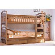 Мебель для детской из массива дерева фото