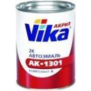 Акриловая автомобильная 2К эмаль Vika белая 201 (с отвердителем 1,5л) фото