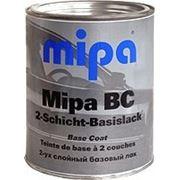 """Базисная двухслойная автомобильная эмаль Mipa BC """"2-Schicht-Basislack"""" 1 л фото"""