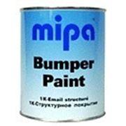 """Автомобильная 1К структурная краска Mipa для бамперов """"Mipaflex Bumper Paint"""" 1 л, черная фото"""