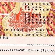 Виза в Австралию фото