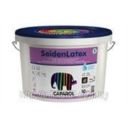 Высоконагружаемая интерьерная водорабавляемая краска Caparol-SeidenLatex Base 1 10 л фото