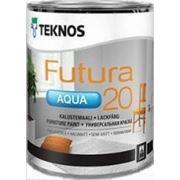 Краска универсальная п/мат Futura Aqua 20, 2.7 л. фото