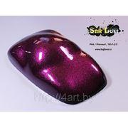 Краска Star Dust блестки Pink Prizm / Розовый 100/200 мкр 50 гр фото