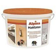 Краска Alpina Mattlatex, 15 л фото