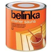 Belinka Interier Sauna — акриловый защитный состав для бань и саун 2,5л фото