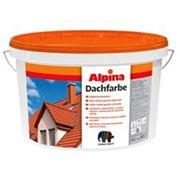 Краска для крыш Alpina Dachfarbe красный фото
