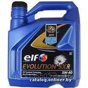 Моторное масло Elf EVOLUTION SXR 5W-40 5л фото