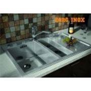 Мойка кухонная ZorG INOX X-5178-2-R L фото