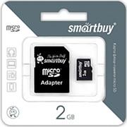 Карта памяти SmartBuy 2Gb microSD Class 10 фото