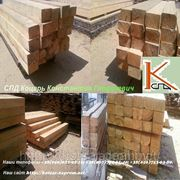 Шпалы деревянные пропитанные и непропитанные ГОСТ 78 — 89. 2) Брус переводной пропитанный фото