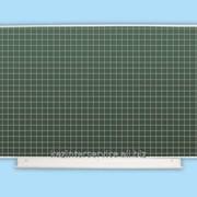 Аудиторная доска 1012х750 мм (мел) ДА-11 (з, клетка, разлинов.) фото