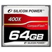 Флеш карта Compact Flash (CF) 64Gb Silicon-Power 400x
