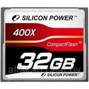 Флеш карта Compact Flash (CF) 32Gb Silicon Power 400x (SP032GBCFC400V10) фото