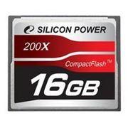 Флеш карта Compact Flash (CF) 16Gb Silicon-Power 200x (SP16GBCF200X) фото