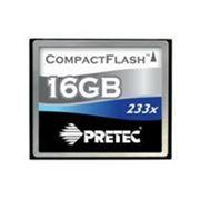 Флеш карта Compact Flash (CF) 16Gb Pretec 233x фото
