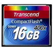 Флеш карта Compact Flash (CF) 16Gb Transcend 400x (TS16GCF400) фото