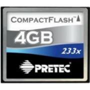 Флеш карта Compact Flash (CF) 4Gb Pretec 233x фото
