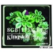 Флеш карта Compact Flash (CF) 8Gb Kingston Elite PRO 133x (CF/8GB-S2) фото